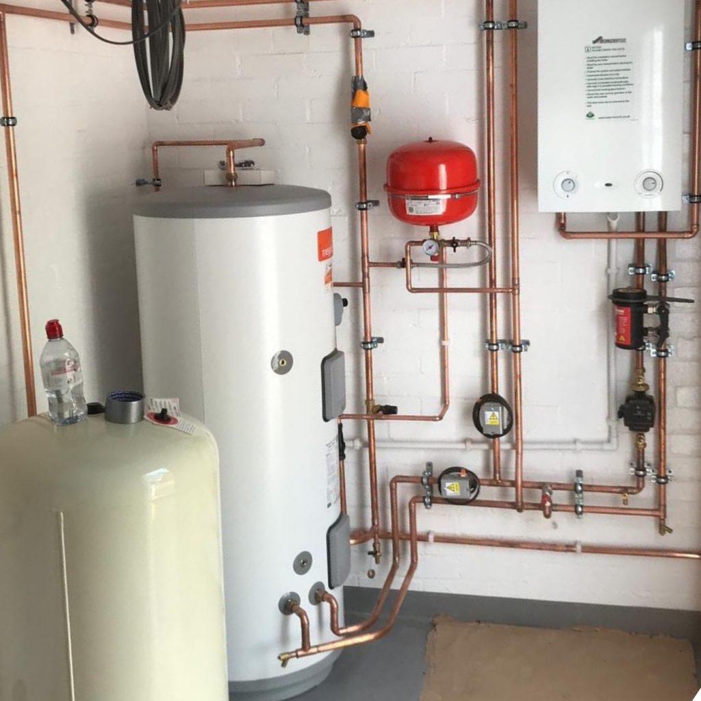 Cylinder Boiler Installation